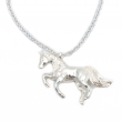 Unicorn Necklace Silver