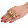Olivia Rose Statement Ring Gold