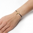 Dagger Cord Bracelet Gold