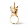 Unicorn Ring Gold