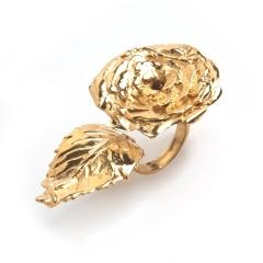 Olivia Rose Statement Ring Gold