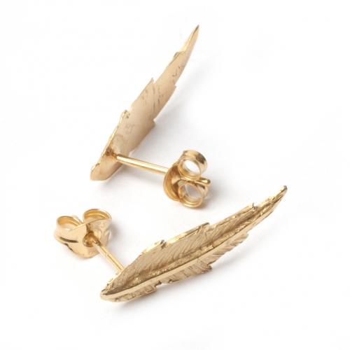 Featherana Earrings-Silver