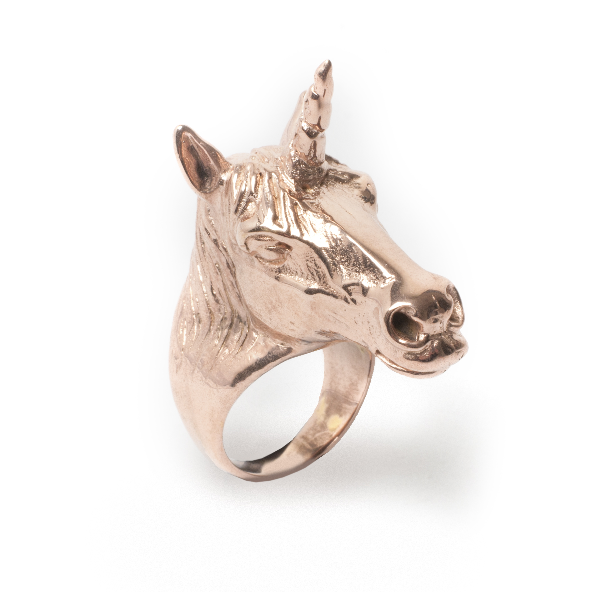 Unicorn Ring Rose Leivankash Jewellery