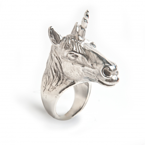 Unicorn Ring Silver