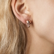 Skull Stud Earrings Gold