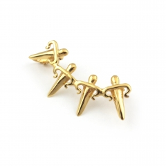 Dagger Ear Cuff Gold