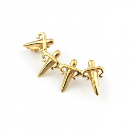 Dagger Ear Cuff Gold