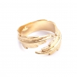 FPR20YG Feather Pinky Ring