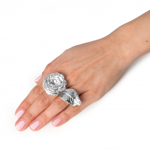 Olivia Rose Statement Ring Silver