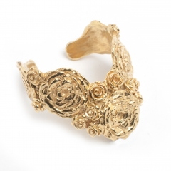 Olivia Rose Statement Cuff Gold