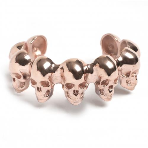 Skull Cuff Rose Gold