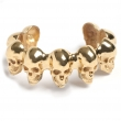 Skull Cuff Gold
