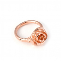 FL51 Rose Pinky Ring - Rose