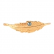 Feather Pearl Hand Cuff - Gold 2