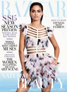 Harpers Bazaar Arabia Jan15 Shanina