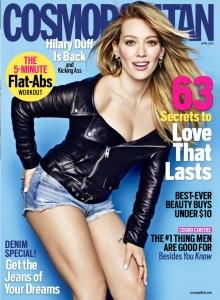 Cosmopolitan US April15 - Hilary Duff