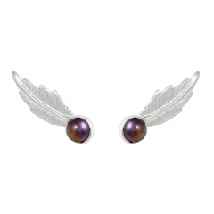 to62a-feather-pearl-earrings-silver-grey