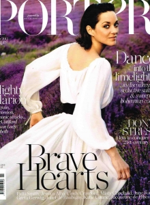 Porter Magazine Cover - Winter Issue 2015