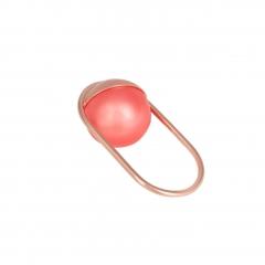OC028 Mata Ring - Coral Pearl