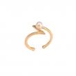OC029 Occhiu Midi Ring - Gold & Pearl