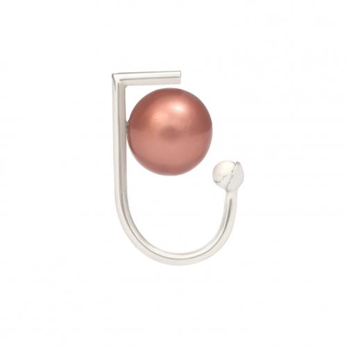 OC035 Yan Ring - Rhodium