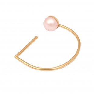 OC043 Mati Bracelet - Gold & Pink Pearl