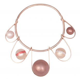 OC047 Silma Chocker - Rose