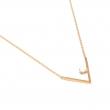 OC052 Ochi Necklace - Gold & Howlite