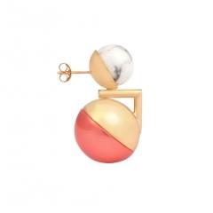 OC057 Ojo Earring - Gold