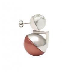 OC058 Ojo Earring - Rhodium