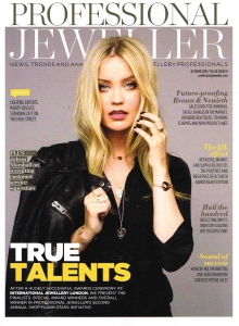 Professional Jeweller Magazine Cover - October 2015