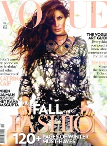Vogue India Magazine Cover - September 2015