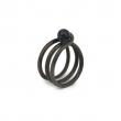 DU013 Spiral Midi Ring - Goldstone