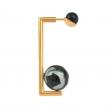 DU040 Anya Earring - Goldstone