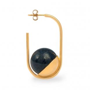 DU049 Mati Earring - Goldstone