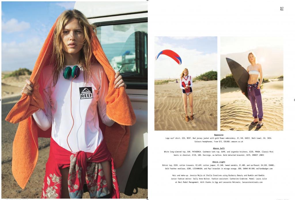 The Sunday Times Style Magazine Leivankash Jewellery