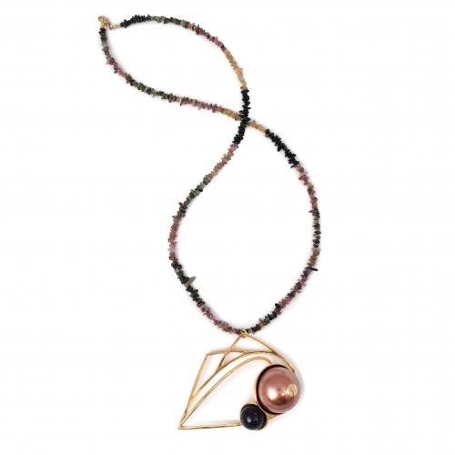 evil-eye-necklace-tourmaline-goldstone-faux-mocha-pearl