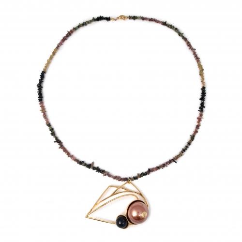 evil-eye-necklace-tourmaline-goldstone-faux-mocha-pearl-z